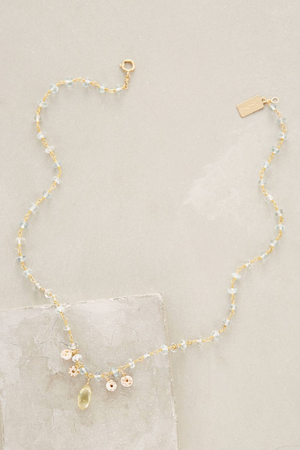 Puka Shell Necklace by RueBelle