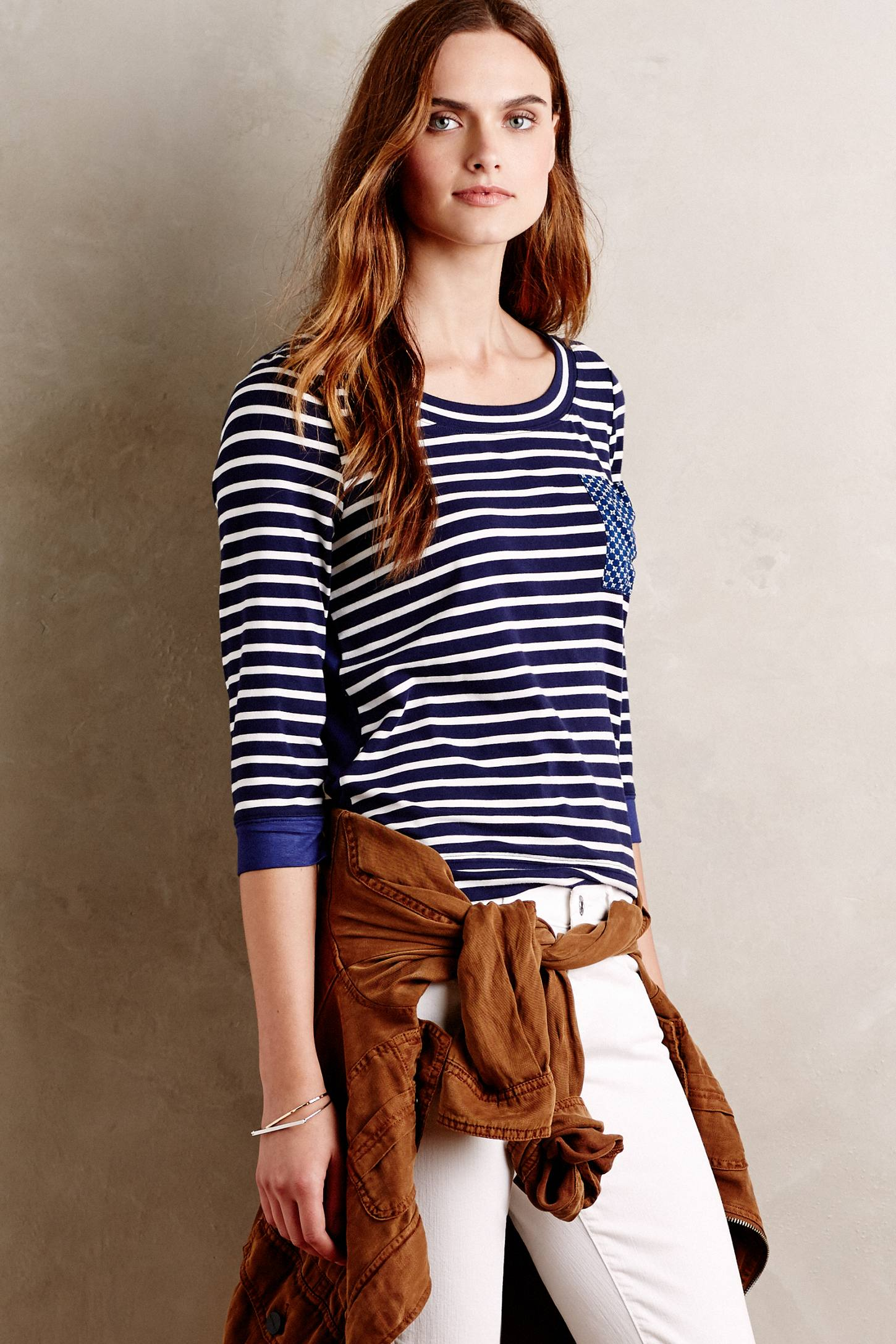 Antibes Tee by Little Yellow Button