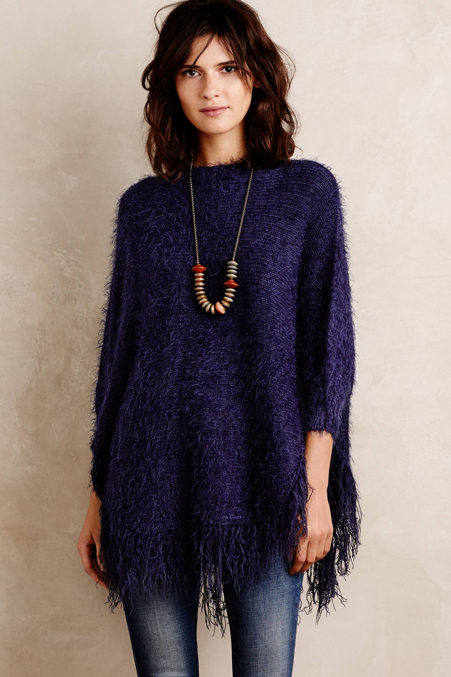 Eyelash Fringe Pullover by La Fee Verte