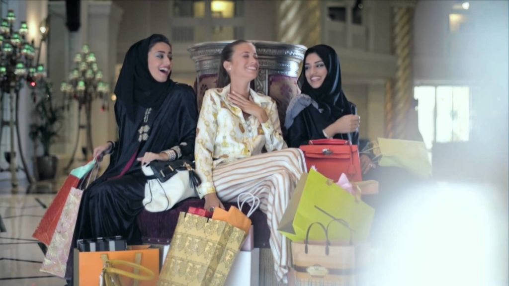 shopping in the middle east